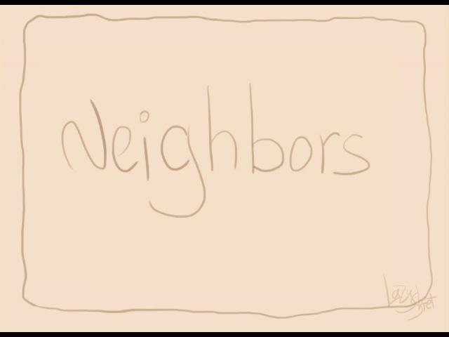 Oh Honey Lonely Neighbor ~ *Neighbors* fan vid ~ skeleton dance
