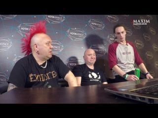 Русские клипы глазами THE EXPLOITED MAXIM Видеосалон