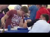 Фогель Александр(Мошковский район) - Лунев Никита(Каргат) Юноши.Весовая категория 65-75кг