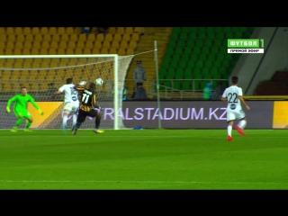 Футбол. Лига Европы. 2-й квалификационный раунд. Кайрат - Маккаби Т-А 1:0 29' Андрей Аршавин