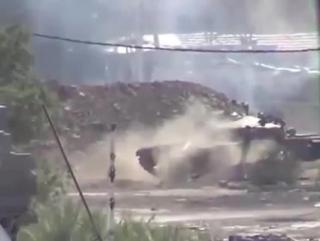 Сирия-Лучший выстрел из танка.