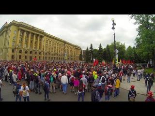 Роллер пробег в Санкт-Петербурге 28 мая 2016 (slow motion version)