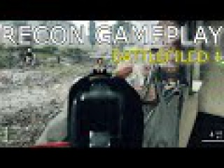 BATTLEFIELD 1 GAMEPLAY SNIPER IRON SIGHT MULTI KILLS