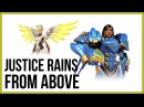 Overwatch guide Mercy and Pharah Ангел и Фарра