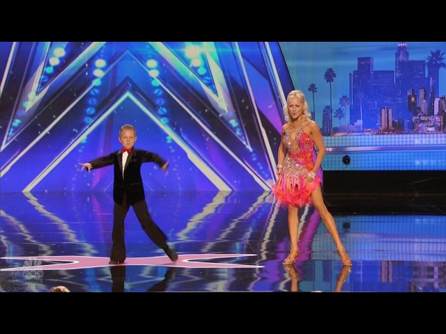 America's Got Talent 2016 Alla Daniel Novikov Mother Son Dance Duo Full Audition S11E02