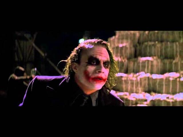 Джокер сжигает свою долю
