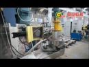 High output pppe flakes granulating line