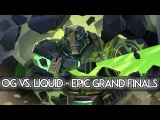 OG vs. Team Liquid - EPIC Grand Finals Manila Major Dota 2