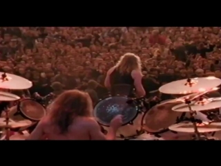 Metallica Enter Sandman Москва Тушино 1991 720
