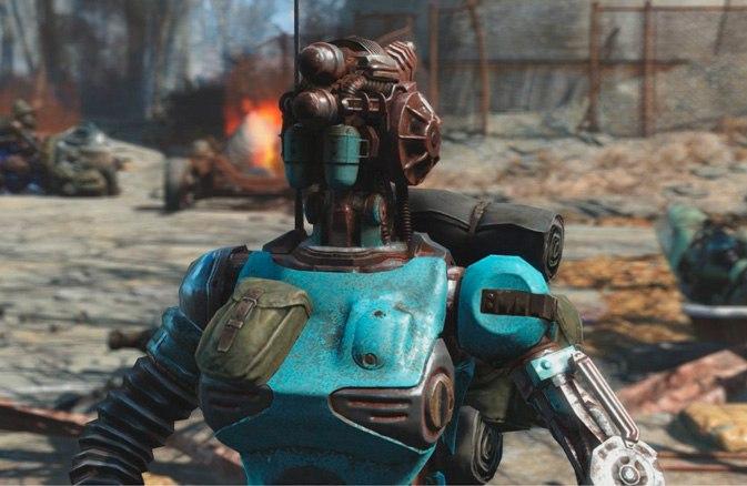 Знакомьтесь Ада робот компаньон из первого дополнения  Fallout4  Automatron.