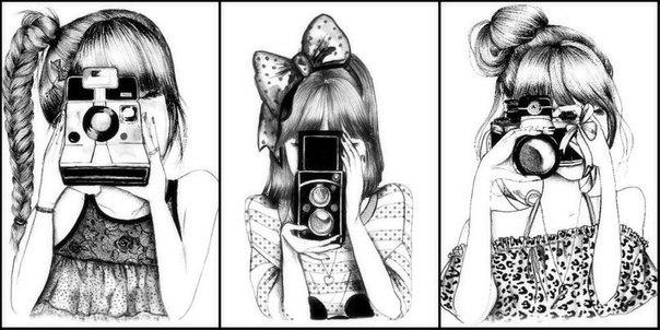 крутые картинки чёрно белые для лд