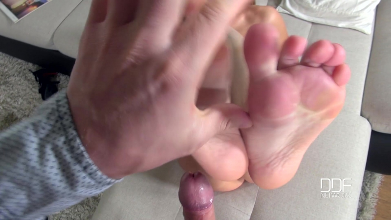 Katarina Muti ( Soulful Soles: Pretty Babe Strokes Cock With Sexy Toes,