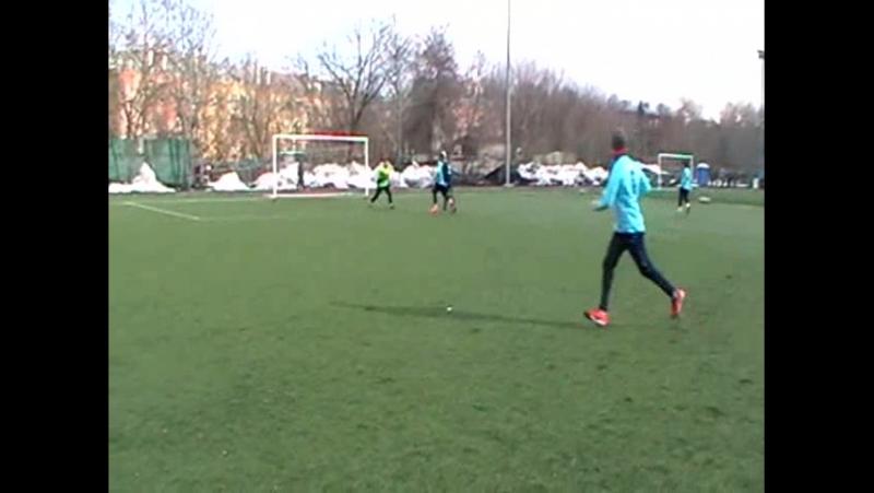 Динамо Голицыно - Фили 7-4 (20.03.16) 1 тайм 2 часть