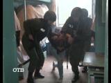 Женский Спецназ в колонии ИК-6 г. Нижний Тагил+26.06.2015