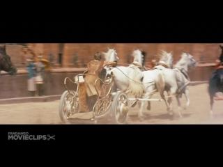 Бен-Гур | Ben-Hur (1959) Гонка на Колесницах