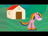 Лошадка Радуга - 6 - мультфильмы для самых маленьких BabyFirstTV