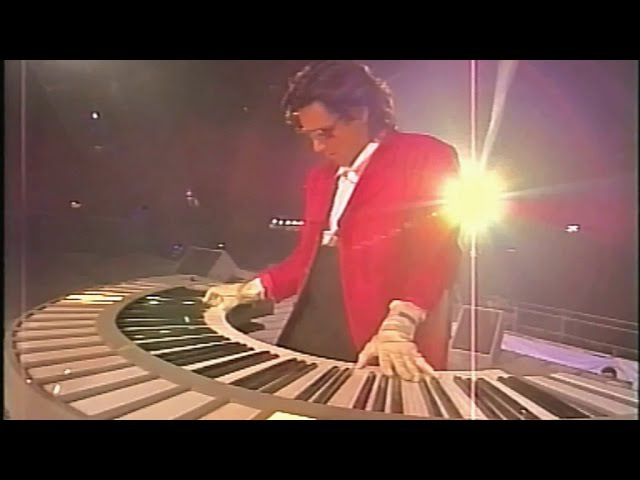 Jean Michel Jarre Live 1990 PARIS LA DEFENSE The Biggest Free Rock Concert Ever VHS Remaster 2016