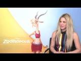 Shakira hablando de Zootropolis y su regreso a la musica (completo)