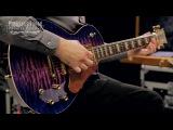 ESP Custom Eclipse Solid Body Electric Guitar, Orchid Purple Sunburst