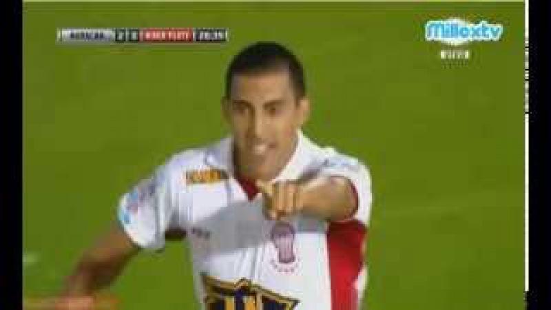 Golazo de Ramon Wanchope Abila - Huracan 2 Vs 0 River Plate - Copa Sudamericana