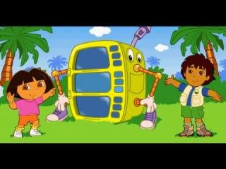 Dora the Explorer and the Robot Даша Следопыт и Робот Dasha Tracker y el Robot Dasha est