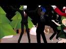 MMD Jingle Bells Dance Creepypasta x mas special DL link's