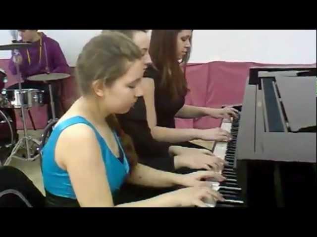 Six/ 6-hand piano trio | игра в 6 рук фортепиано | for 1 piano 6 hands
