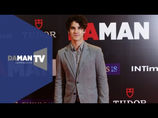 Darren Criss' Red Carpet Interview at the 9th DA MAN Anniversary Party