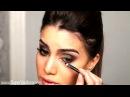 Вечерний макияж для карих глаз Evening make up for brown eyes