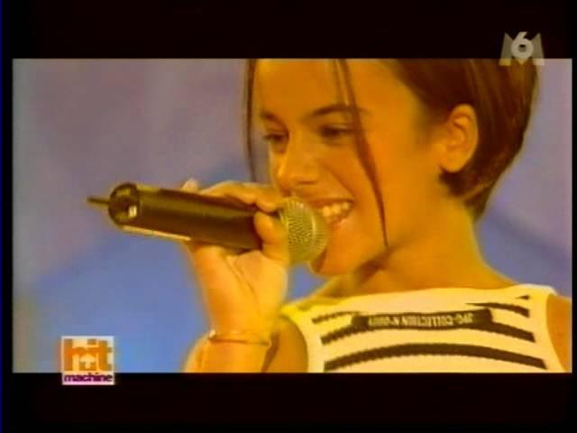 Alizée - Moi...Lolita Live (2000-09-16 - Hit Machine - M6) - YouTube