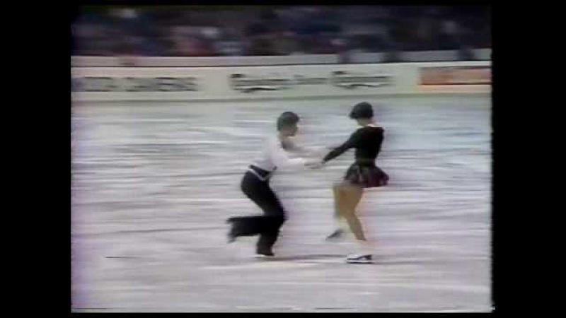 Moiseeva Minenkov (URS) - 1982 World Figure Skating Championships, Free Dance