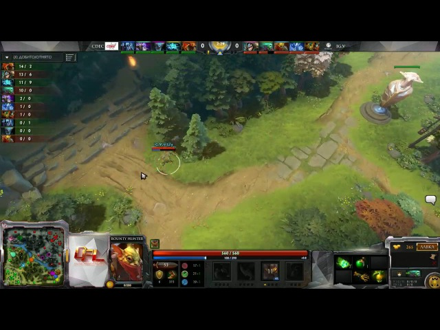 CDEC.A vs IG.V ,DPL Season 1,Game 2