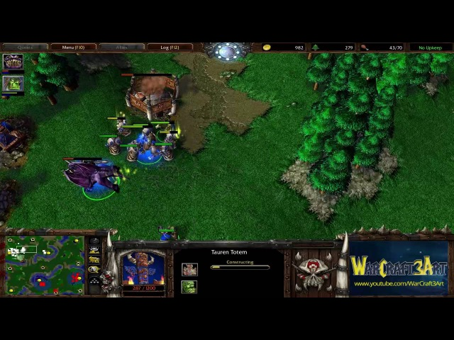 Grubby(ORC) vs JeffDuNutte(UD) - WarCraft 3 Frozen Throne - RN2315