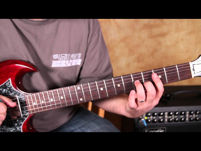 Blues Guitar Lesson in the Style of Green Onions by Booker T and the M.G.'s gibson sg