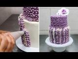CROCHET  Buttercream Cake Technique by CakesStepbyStep.