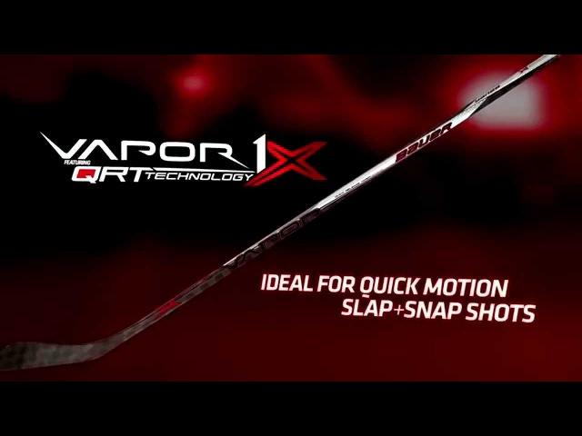 BAUER VAPOR 1X Stick: QRT Technology