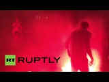 France: Football fans clash for a second night in Marseille