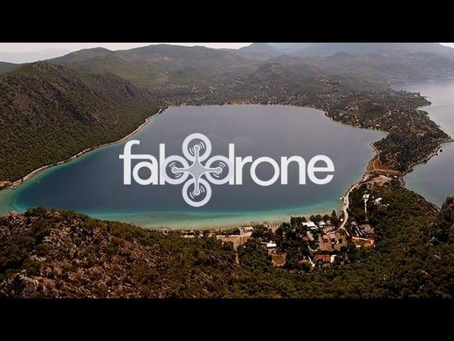Η λίμνη Βουλιαγμένης, Περαχώρας από ψηλά - Lake Vouliagmeni Perachora, Loutraki, dron