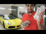 Paying CASH for a New Ferrari !!!