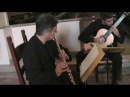 C.Debussy Reverie for flute, clarinet and guitar.
