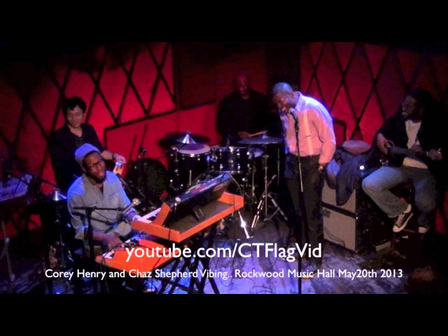 Chaz Shepherd and Corey Henry Vibing Rockwood Music Hall