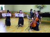 Феликс Мендельсон - Фортепианный квартет ор. 1 №1 (1 часть) .