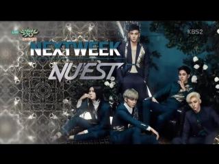 NU'EST & Brave Girls - Next Week @ Music Bank 160212