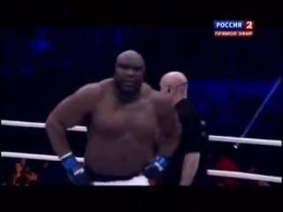 Бои без правил. Александр Емельяненко против Боба Саппа. спорт.