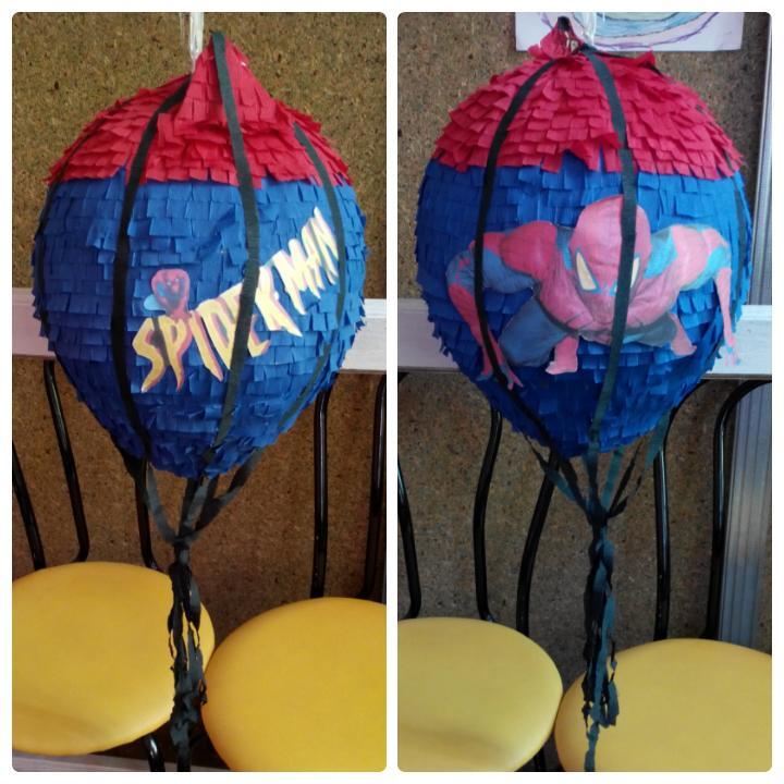 пиньята на детский праздник человек паук спайдермен купить запорожье