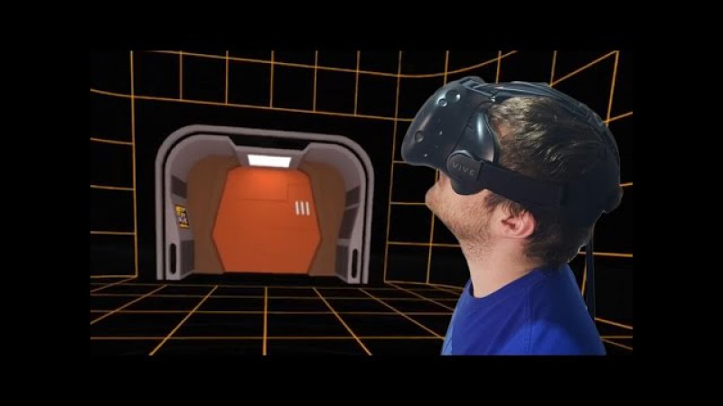 HOLODECK! HTC Vive VR Backgrounds - MINDBLOWING!