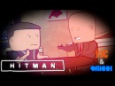 Уэс, Флинн и Amiko-chan играют в Hitman s01e11