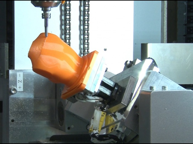 Hybrid 3D Printer Using 5-Axis Control