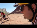 Terrifying MTB Trail Ride With Aaron Chase and a GPS-Tracking Drone