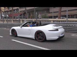 Porsche 991 TechArt Carrera S Cabriolet - Exhaust Sounds! | Спорткар, суперкар, автомобиль, машина, тачка